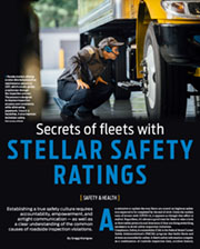 Secrets of Fleets with Stellar Safety Ratings