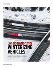 Considerations for Winterizing Vehicles